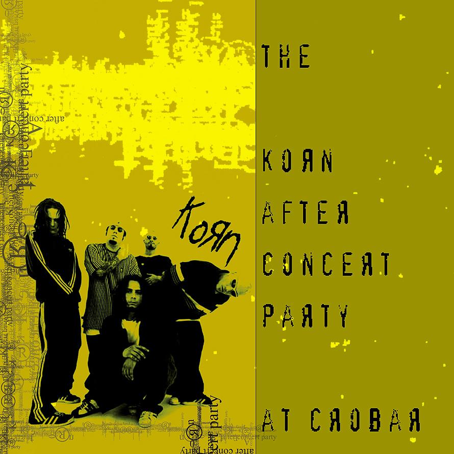 Korn After Concert Party at Crobar