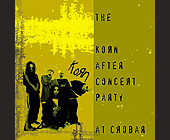 Korn After Concert Party at Crobar - 1500x1500 graphic design