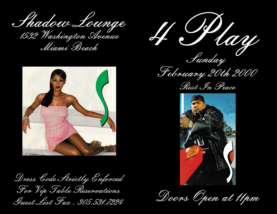 Four Play on Sundays at Shadow Lounge