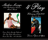 Four Play on Sundays at Shadow Lounge - tagged with ebony model