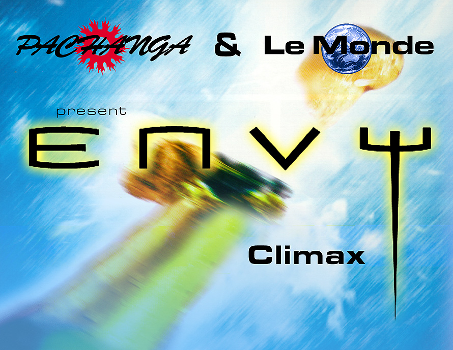 Climax Event at Envy Nightclub