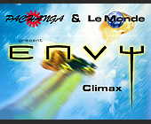 Climax Event at Envy Nightclub - 1650x1276 graphic design
