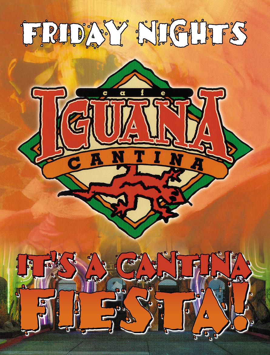 Fridays at Cafe Iguana