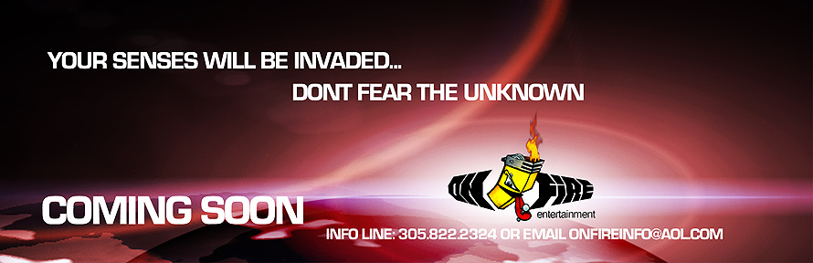 Invasion Coming Soon on Fire Entertainment