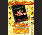 El Gran Combo Live at Cafe Iguana Miami - tagged with el zol 95 logo