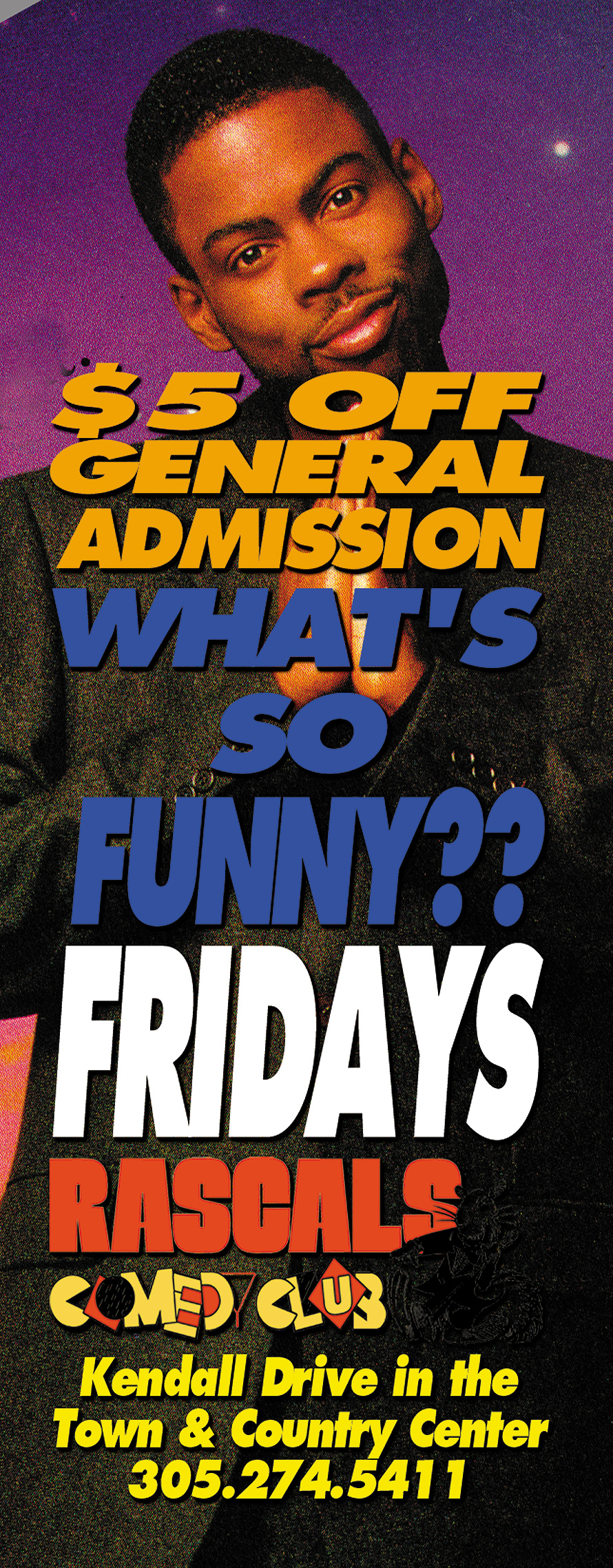 What's So Funny Event at Rascals Comedy Club