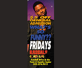 What's So Funny Event at Rascals Comedy Club - created February 23, 2000