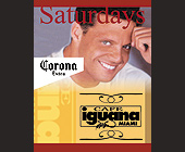 Win Luis Miguel Tickets at Cafe Iguana - tagged with corona logo
