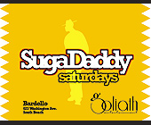 SugaDaddy Saturdays at Bardello - tagged with on south beach