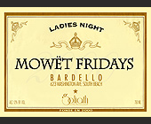 Ladies Night Mowet Fridays at Bardello - 1650x1200 graphic design