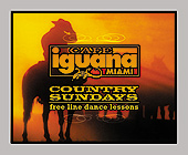 Country Sundays at Cafe Iguana Kendall - tagged with 4.25 x 3.5