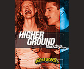 Higher Ground at Gameworks - tagged with gameworks logo