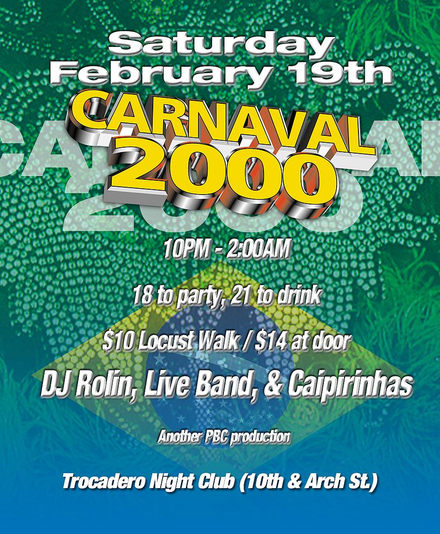 Carnaval at Trocadero Nightclub