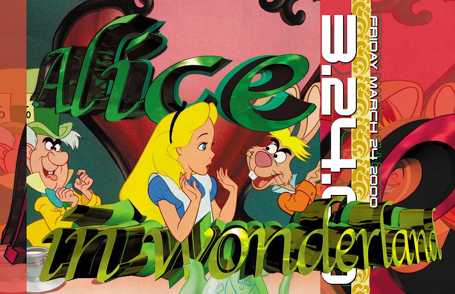 Alice in Wonderland at Salvation