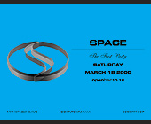 The First Party Sturday at Club Space - Club Space Miami Graphic Designs