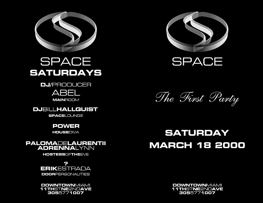 The First Party at Club Space