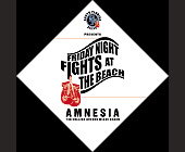 South Florida Boxing at Amnesia - tagged with amnesia