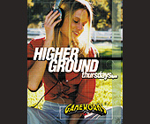 Higher Ground at Gameworks - Top 40 Graphic Designs