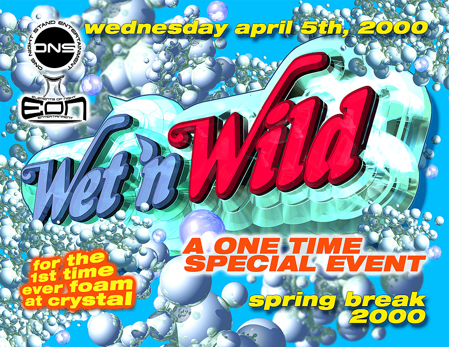 Wet 'n Wild at Cristal Nightclub in Miami Beach