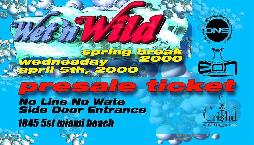 Wet and Wild Spring Break