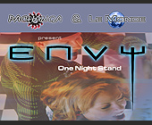 One Night Stand Event at Club Envy - Techno Graphic Designs