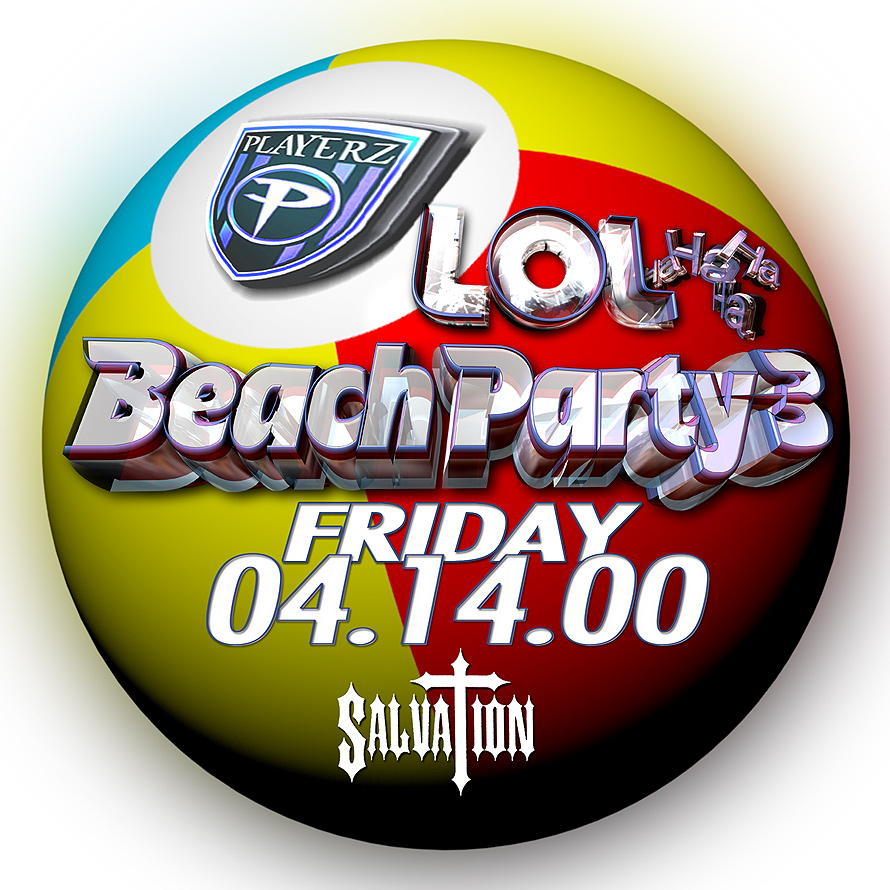 Lol Beach Party at Salvation
