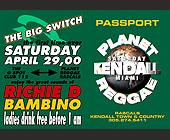 The Big Switch at Rascals - tagged with 10 x 7