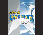 Gameworks Late Show - tagged with gameworks logo