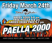 Paella 2000 at Mad Jacks - Nightclub