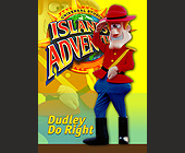 Universal Studios Trading Cards Dudley Do Right - tagged with 2.5 x 3.5