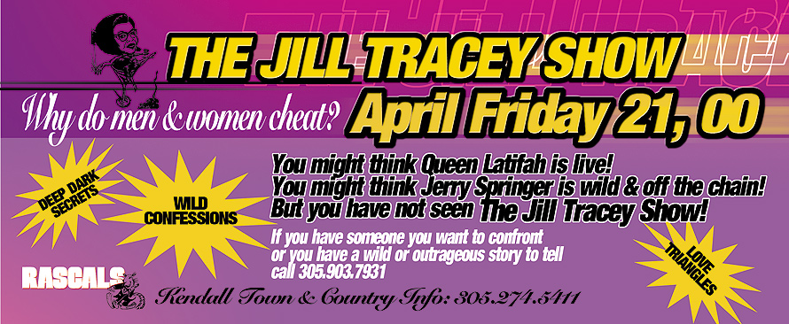 The Jill Tracy Show at Rascals