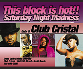 Saturday Night Madness Only at Club Cristal - tagged with eve