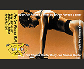Body Pro Health and Fitness Free Membership Card - Health