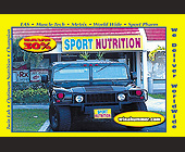 Sport Nutrition Website - Internet Graphic Designs