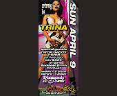 Trina Performing Live at The Chili Pepper and Black Rob at Rascals - Rascals Graphic Designs