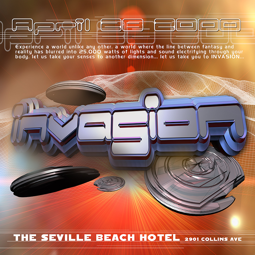 Invasion at The Seville Beach Hotel