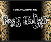 Pussy Gallore Event at Whiskey Lounge and Club 609 - created March 2000