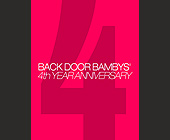 Back Door Bamby's Fourth Anniversary at Crobar - Nightclub