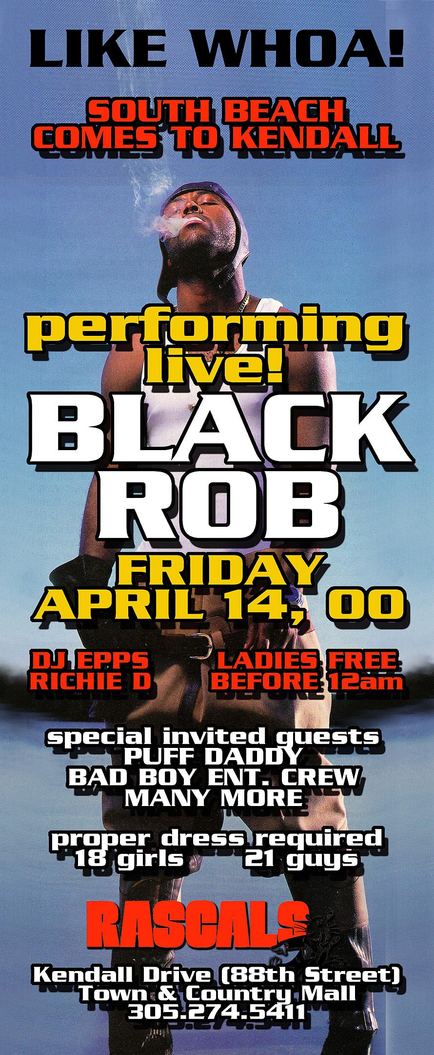 Black Rob at Rascals