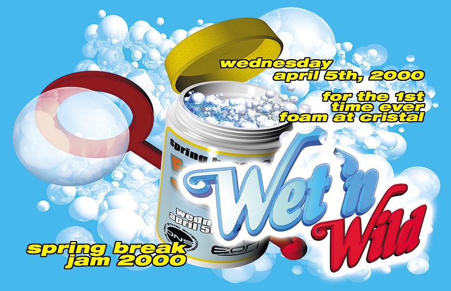 Wet 'N Wild at Cristal Nightclub