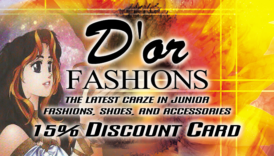 D'or Fashions Discount Card