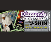 Diamonds and Pearls with J-Shin at The Chili Pepper - Nightclub