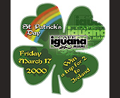 St. Paddy's Day at Cafe Iguana - Nightclub