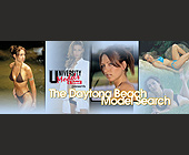 The Daytona Beach Model Search - University Models and Talent Graphic Designs