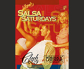 Salsa Saturdays at Club 609 - tagged with el zol 95 logo