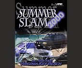 Summer Slam at Virginia Key Beach - tagged with automobile