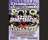 Diamonds and Pearls at The Chili Pepper in Coconut Grove - tagged with ladies free before 11