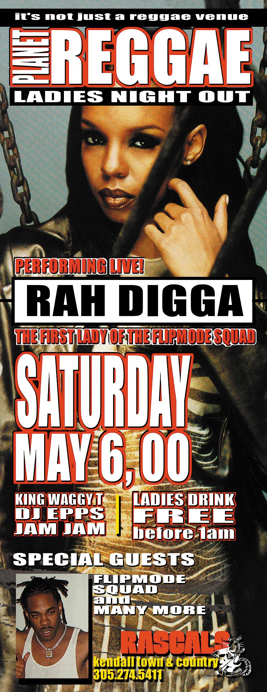 Planet Reggae Presents Rah Digga & DJ Epps