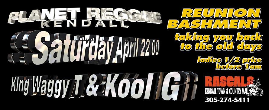 Planet Reggae at Rascals