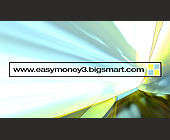 Easy Money 3 Business Card - tagged with abstract art